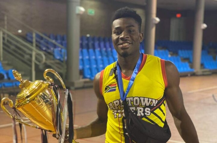 D'Tigers Ben Uzoh leads Cape Town Tigers to South Africa club championship